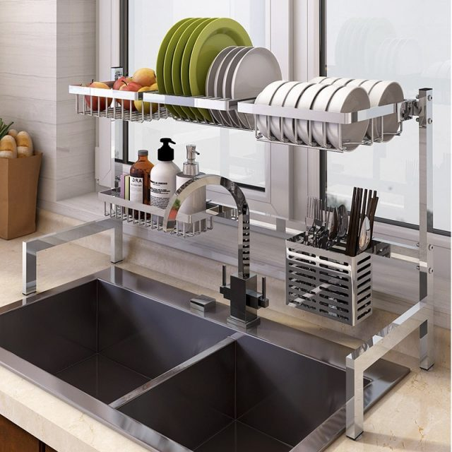 Stainless Steel Dish Rack SG